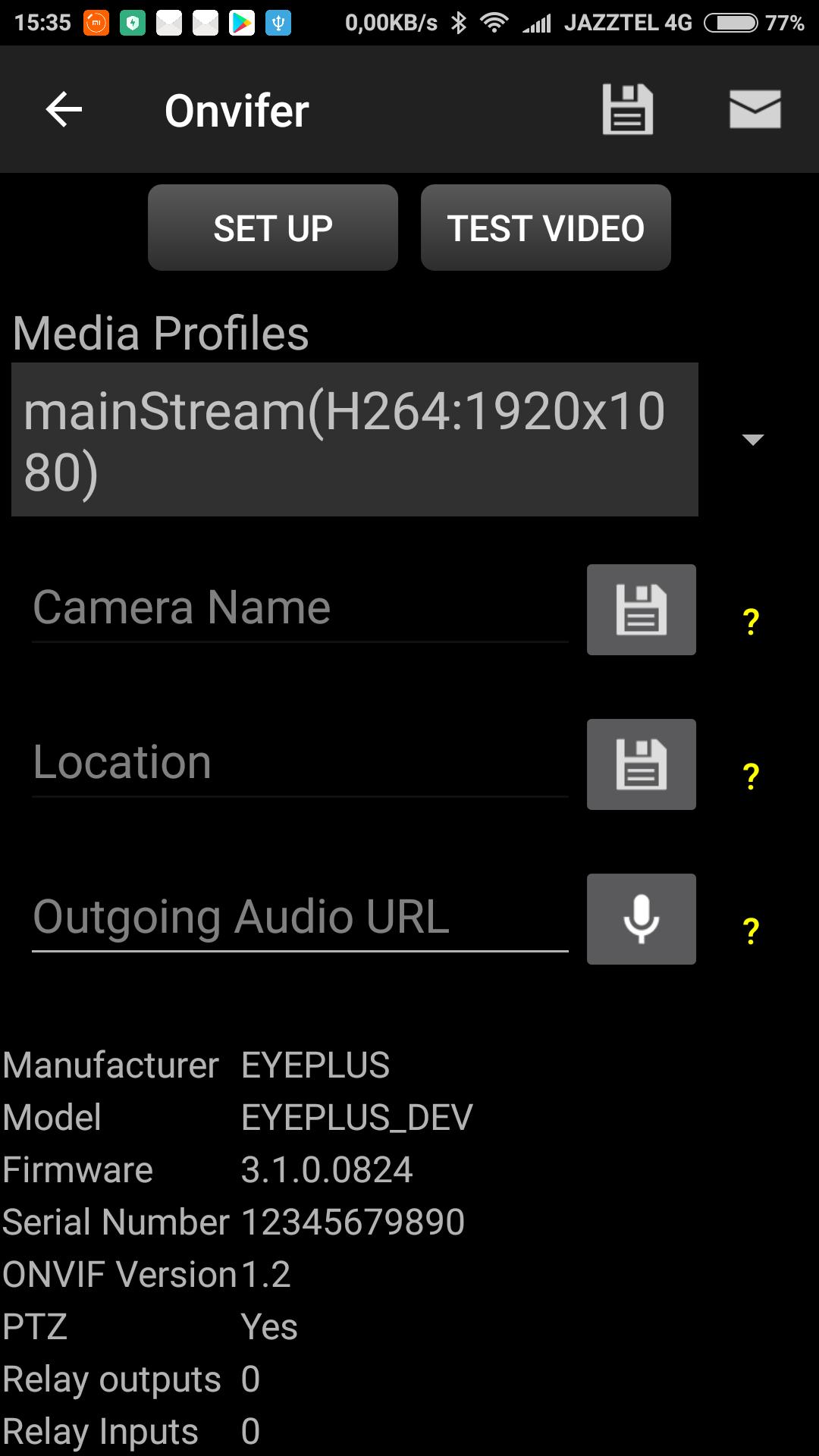 Guudgo GD-SC03 camera - Network Cameras - Moonware Studios